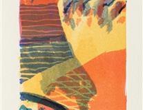 Quimper Litografi (42x9 cm) kr 900 ur