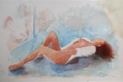 Relaxing nude Litogarfi 35x55 cm 100 ur
