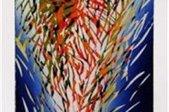 I naturen I Linosnitt 31x12,5 cm 1500 ur
