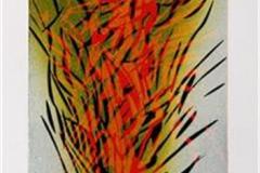 I naturen II Linosnitt 31x12,5 cm 1500 ur