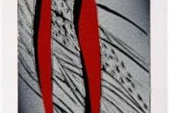 Komposisjon Linosnitt 25,5x9 cm 1100 ur