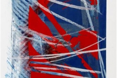 Uvaer III Silketrykk, pastell 30x22 cm 1500 ur