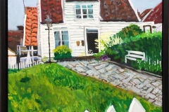 DE 183 Akrylmaleri (50x40 cm) kr 3500 mr