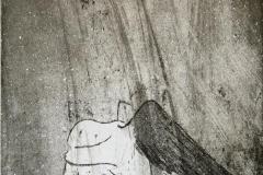 Sometimes Etsning 22x18,5 cm 1500 ur