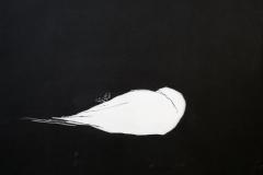 White bird Etsning 34x39,5 cm 2300 ur