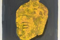 Buddha Handkolorert serigrafi (25x21 cm) kr 1800 kr