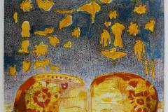 Drommevev Litografi 32,5x23 cm 2500 ur