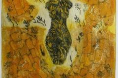 Eva Torso Collagrafi 46x37,5 cm cm 3700 ur