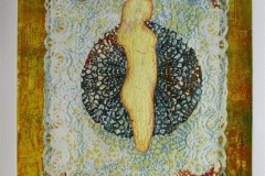 Hennes teppe III Collagrafie (variant) 46x37,5 cm 3800 ur