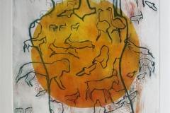 Par i landskap Etsning (variant II) 46x37,5 cm 3800 ur