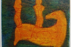 Ryttere Collagrafi 37,5x45,5 cm 3800 ur