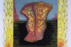 Tango Litografi variant (40x33 cm) kr 3500 ur