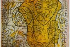 Tangofortelling Etsning 35x27 cm 2800 ur