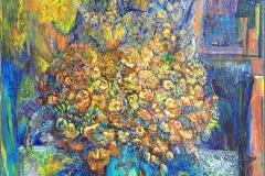 Bukett - Floragram I (90x70 cm) kr 25000 ur