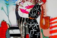 Blaere enn himmelen Akrylmaleri (80x80 cm) kr 8500 ur