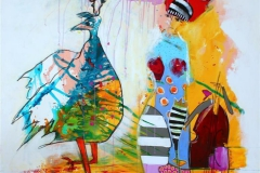 I dag ogsa Akrylmaleri (100x100 cm) kr 11000 ur