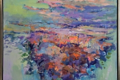Sommermorgen Maleri (80x80 cm) kr 11500 mr