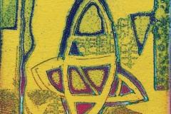 Komposisjon Etsning (14x10 cm) kr 500 ur