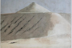 Pyramiden - Svalbard Litografi 52x50 cm 2300 ur