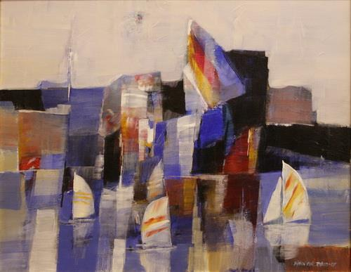 Sails in blue