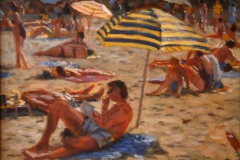 Sand-droemt i Antibes Akrylmaleri 40x50cm 7000,-kr m.r.