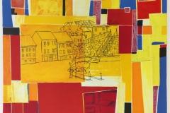 Sommer I. Litografi, tegning (50x65 cm) kr 3700 ur