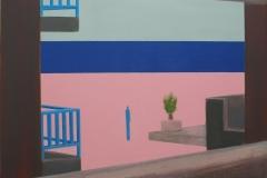 Contemplation I Akryl på lerret (50x70 cm)
