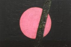 Organic circle I Akryl på lerret (40x40 cm)