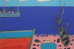 Shoreline IV Akryl på lerret (40x50 cm)