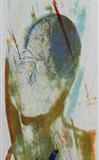 Tulipan Litografi 48x10cm 2000,-kr u.r.