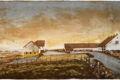 Haa gamle prestegaard Litografi 28x49,5 cm 950,-kr u.r.