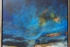 Arne Gundestrup Åbent hav Akrylmaleri (80x60 cm) kr 4800 mr