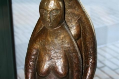 Child and Mother Bronse H39 cm 8200
