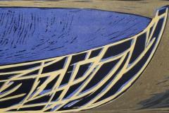 Stavnen Litografi 31x67 cm 1900 ur
