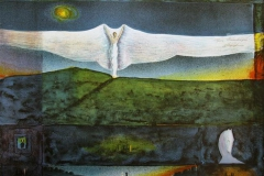 Himmelvingen Litografi 46x61,5 cm 4200 ur