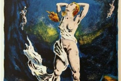 Venus Litografi 45x34 cm 1200 ur