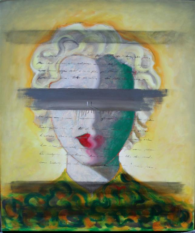 Hedda Gabler _ The Innter View Oljemaleri 180x85 cm 54000 ur
