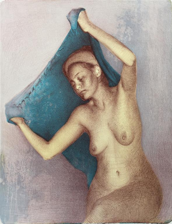 Yasmak Litogfari (49x38 cm) kr 2500 ur