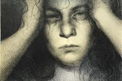 Forgotten, sort Litografi (35x24 cm) kr 1200 ur