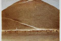 Monument Litografi 21x16 cm 1000 ur
