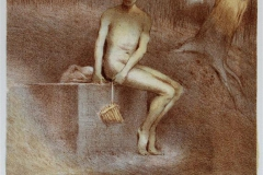 Pan Litografi 28,5x21,5 cm 1500 ur