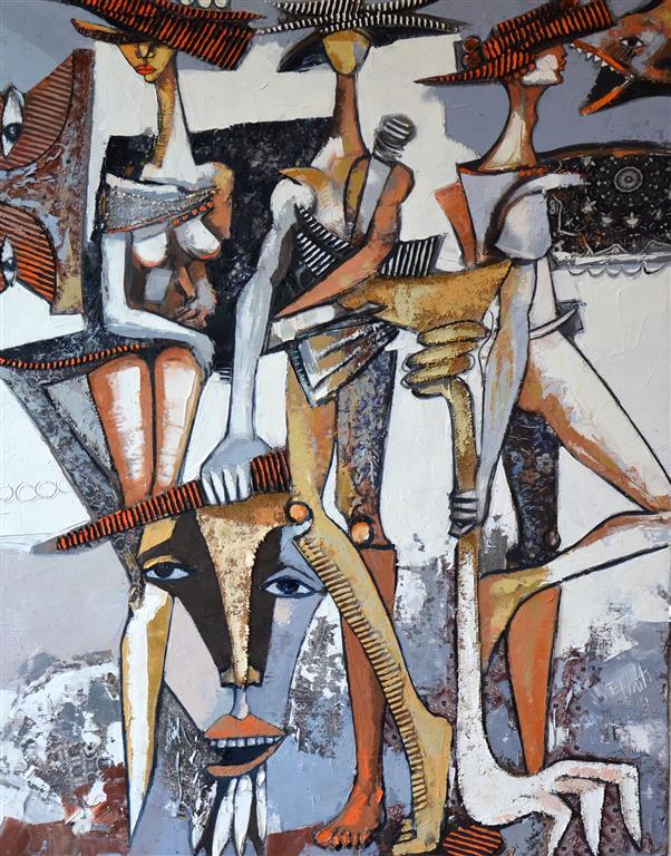 Koplingar III Maleri (100x80 cm) kr 20000 ur
