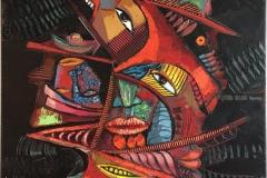 Barbacoa I Maleri (100x80 cm) kr 22000 ur