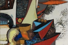 Følgesvennen Maleri (100x80 cm) kr 20000 ur