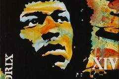 Hendrix XIV Akrylmaleri 70x50 cm 5200 mr