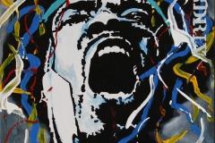 Hendrix XVI Akrylmaleri 60x50 cm 4800 mr