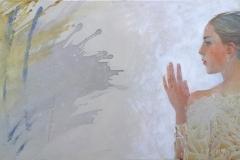 Dobbeltgjenger Mixed media (60x140 cm) kr17000 ur