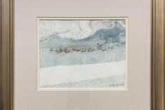 Fiskeflåte Akvarell (20x25 cm) kr 8000 mr