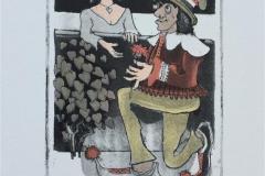 I art here Etsning (15x10 cm) kr 1500 ur