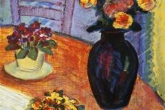 Et blomstrende bord Litografi 48x34 cm 1400 ur